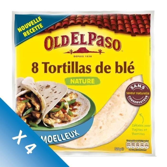 [LOT DE 4] Tortillas de blé 326 g Old el Paso