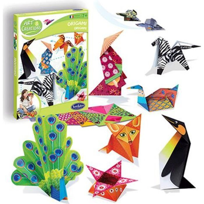Art et Créations : Kit Origami aille Unique Coloris Unique