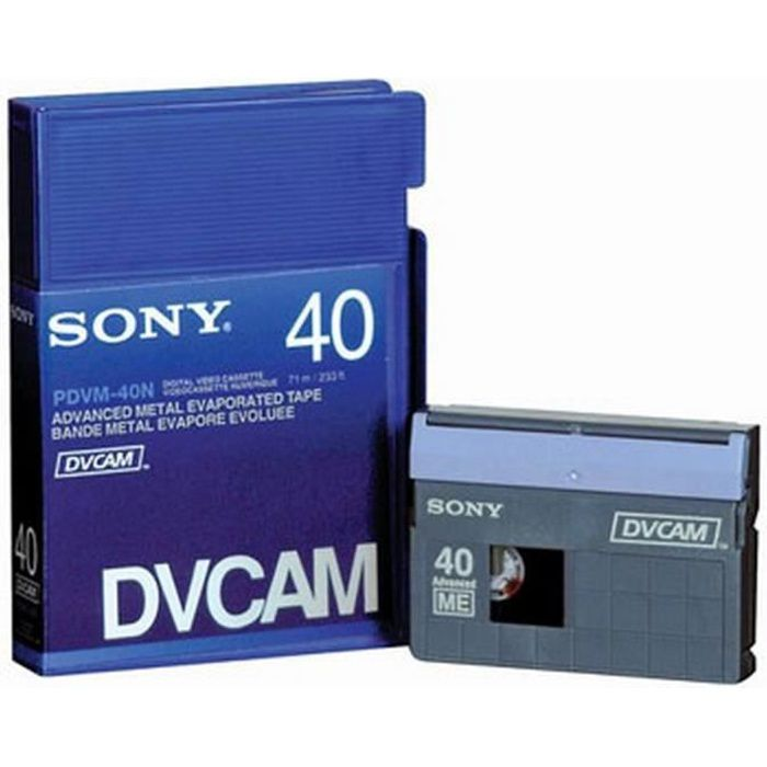 SONY PDVM-40 - Cassette vidéo numérique
