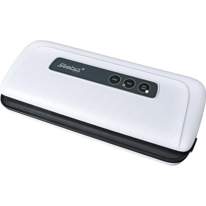 STEBA 052400 VK4 Machine à vide d'air - Pour films et sacs jusqu'à 30 cm - Blanc