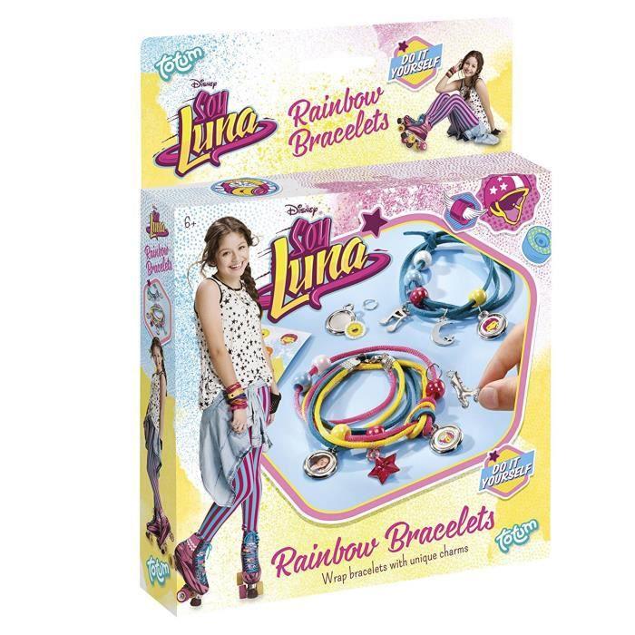 SOY LUNA Rainbow Kit Créatif Bracelets