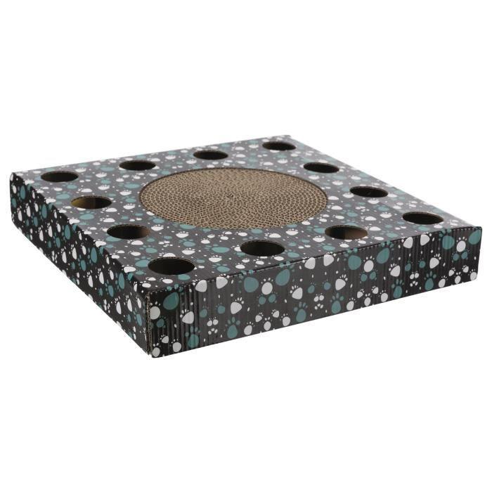TRIXIE Plaque griffoir - 33 x 33 cm - Noir - Pour chat