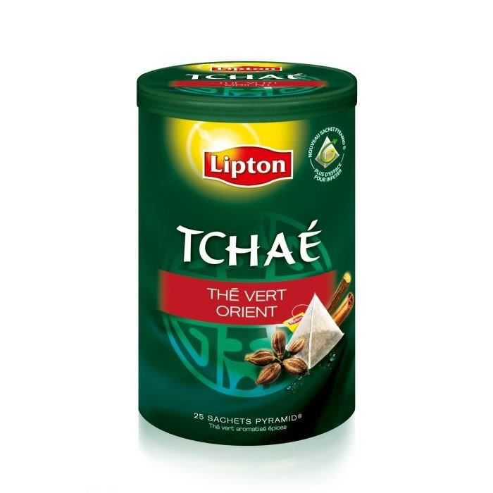 LIPTON Tchae Thé vert d'Orient 25 Sachets