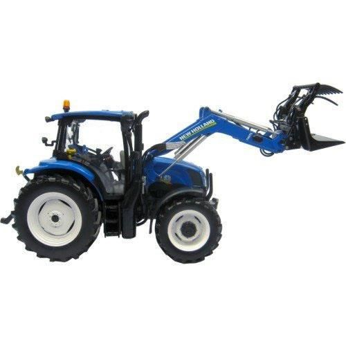 TRACTEUR NEW HOLLAND T6.140 (2014) chargeur - 1/32 Universal Hobbies 4232