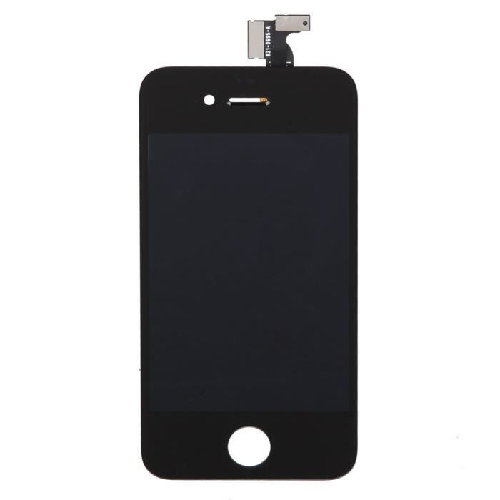 ecran lcd complet neuf pour iphone 4 noir achat ecran. Black Bedroom Furniture Sets. Home Design Ideas