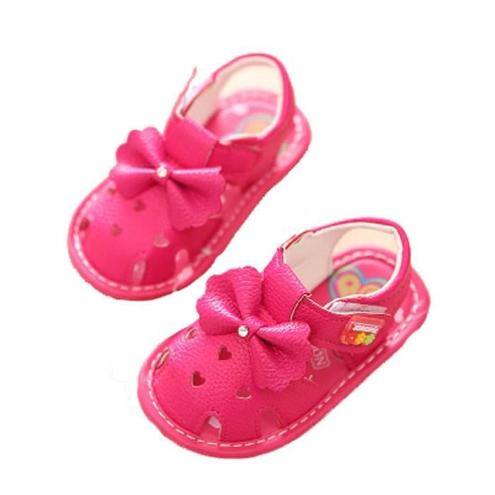 bébé chaussures bébé filles chaussures d'été sandales bébé princesse 0 1 2 année