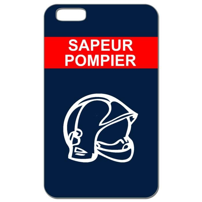 coque 3d iphone 6 6s sapeur pompier