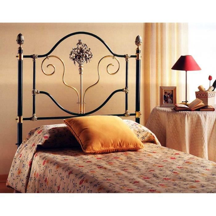lits et t tes de lit en laiton et fer forg mod le mazamet lit couleurs choisir pour. Black Bedroom Furniture Sets. Home Design Ideas