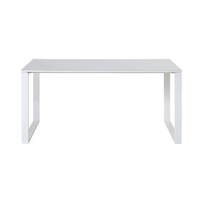 BUREAU  Bureau 160x80x75 cm blanc - FANCY