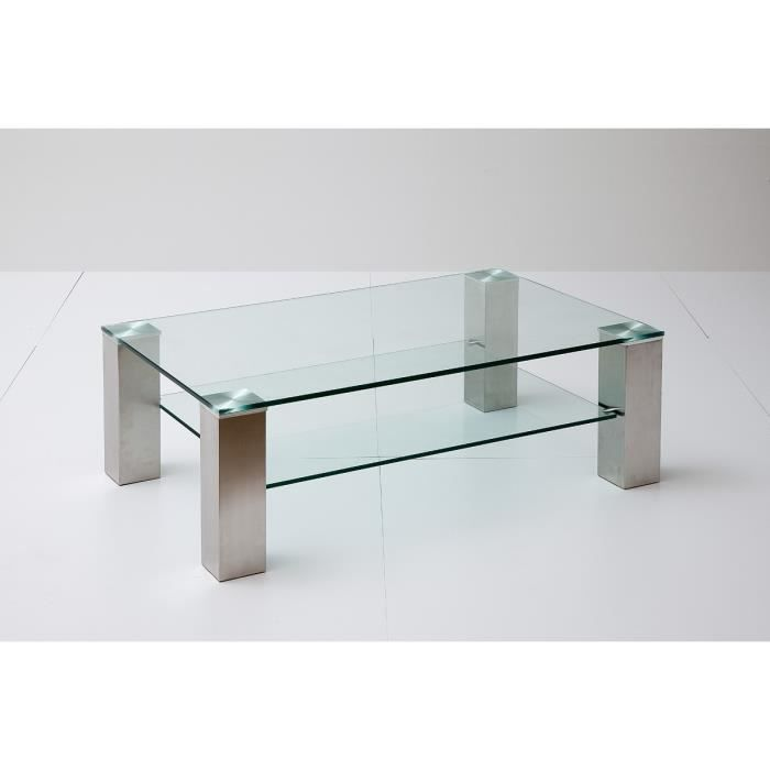 Table basse 110 x 70 cm vista i l 110 x p 70 x h 40 cm for Table cuisine 70 x 110