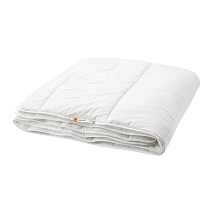 Ikea Grusblad Couette 7 5 Tog Simple Achat Vente Couette Cdiscount
