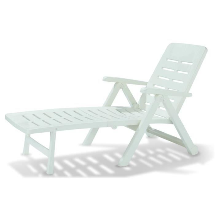 bain de soleil smeraldo blanc achat vente chaise. Black Bedroom Furniture Sets. Home Design Ideas