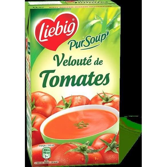 liebig pursoup 39 velout de tomates 1l achat vente brique familiale liebig pur 39 soup 1l. Black Bedroom Furniture Sets. Home Design Ideas