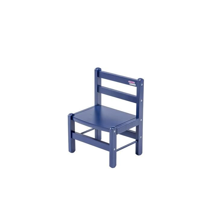 chaise tabouret bb combelle chaise basse laque bleu - Chaise Basse