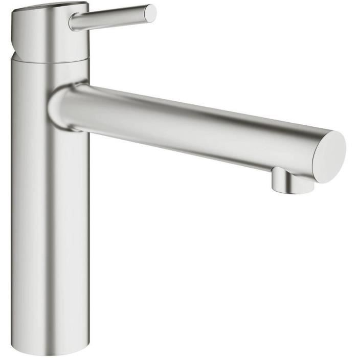 Grohe Mitigeur évier Concetto 31128dc1 Achat Vente Robinetterie