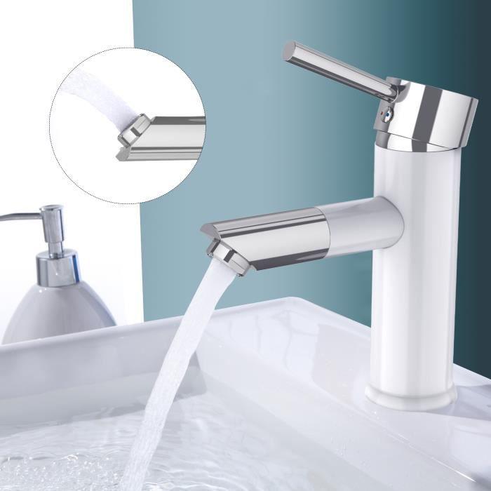 Le robinet Essentials peut /être tourn/é 360 /° Robinet salle de bain Mitigeur Mitigeur d/évier et mitigeur de cuisine