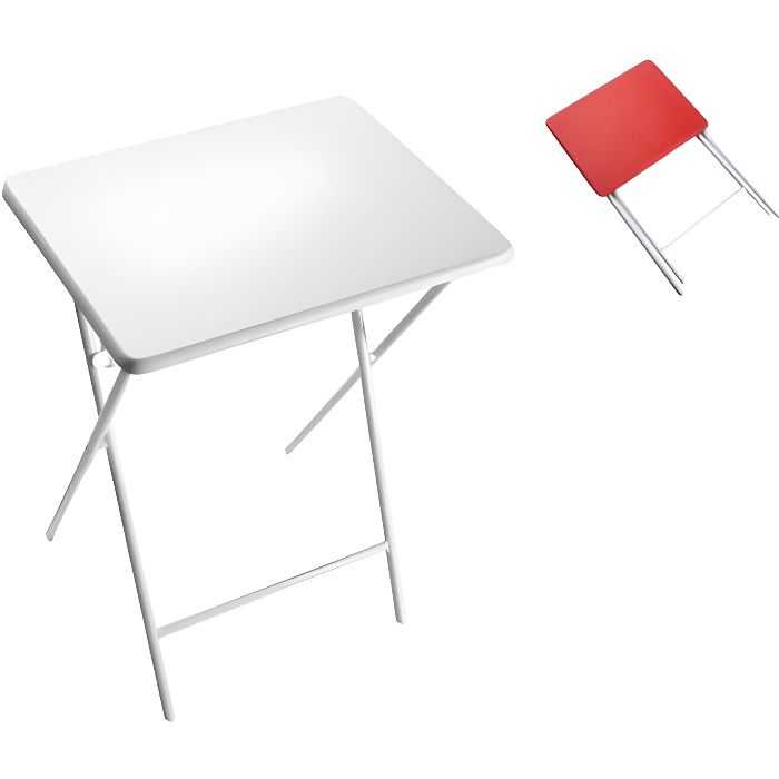 Table Blanche Pliante Table With Table Blanche Pliante Fabulous