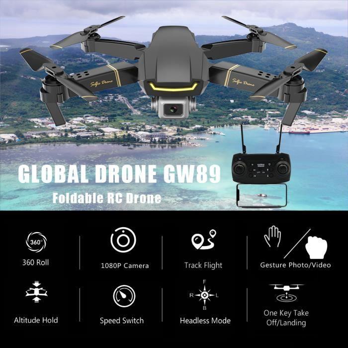 DRONE GLOBAL DRONE GW89 Drone RC avec caméra 1080P Wifi