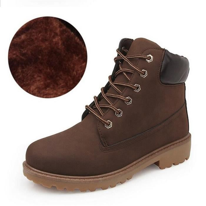 chaussure ou botte chaude homme hiver