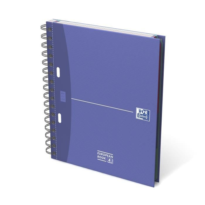 Oxford office cahier spirale european book 4 achat vente cahier oxford office cahier - Cahier oxford office book ...