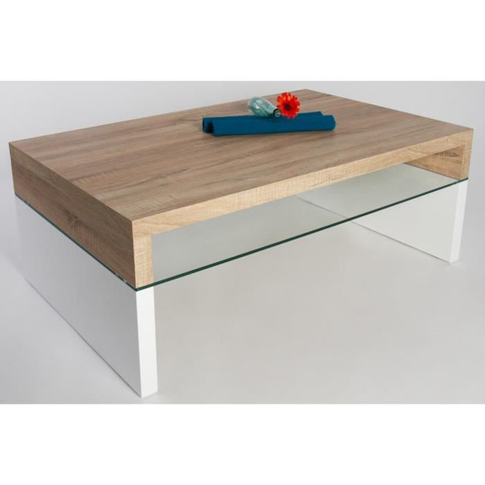 Table basse rose sonoma ch ne clair laque bla achat - Table basse rose ...