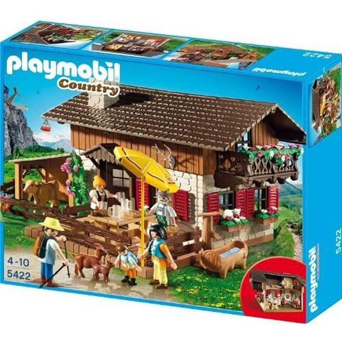 playmobil 5422 figurine chalet achat vente assemblage construction cdiscount. Black Bedroom Furniture Sets. Home Design Ideas