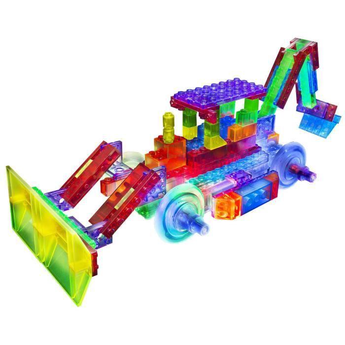 ASSEMBLAGE CONSTRUCTION Briques de construction : Bulldozer 8 en 1 -106 pi