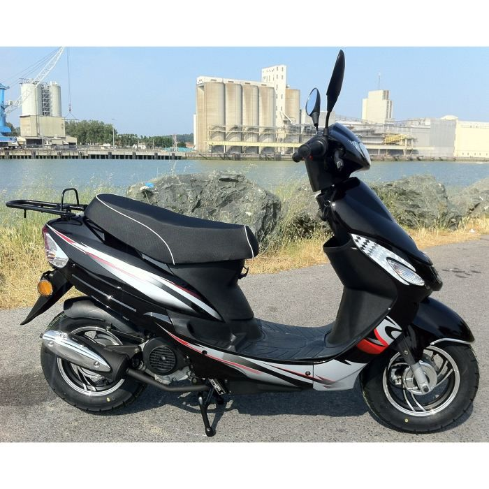 scooter 50cc beat box noir mat cy50t6 achat vente scooter. Black Bedroom Furniture Sets. Home Design Ideas