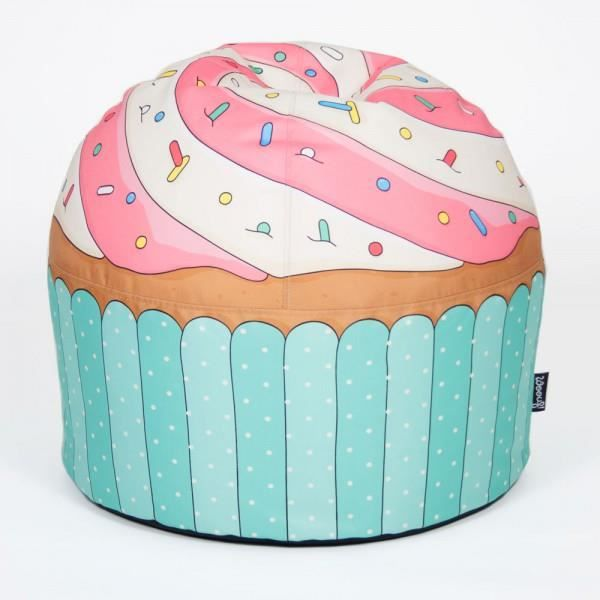 pouf cupcake woouf achat vente pouf poire cdiscount. Black Bedroom Furniture Sets. Home Design Ideas
