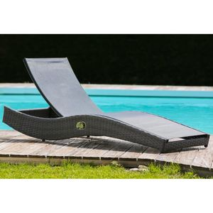 chaise longue transat achat vente chaise longue transat pas cher soldes d s le 10. Black Bedroom Furniture Sets. Home Design Ideas
