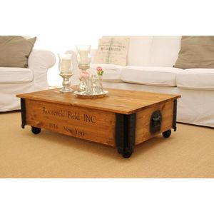 Table basse coffre achat vente table basse coffre pas for Table basse coffre bois