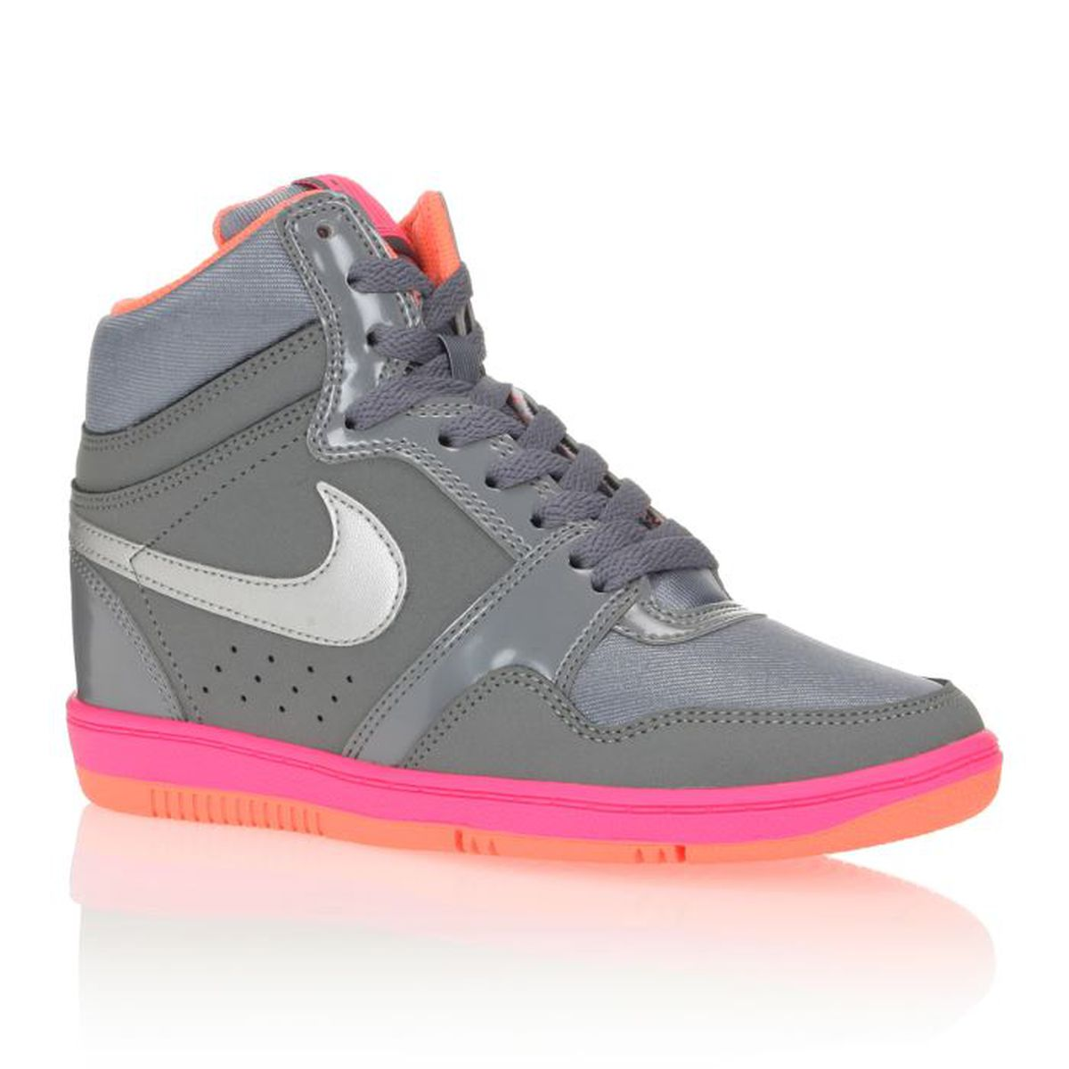 Force Femme Nike Achat Baskets Gris High Basket Vente Sky 5RqZUa