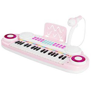 PIANO COSTWAY Jouet Clavier de Piano Electronique 37 Tou