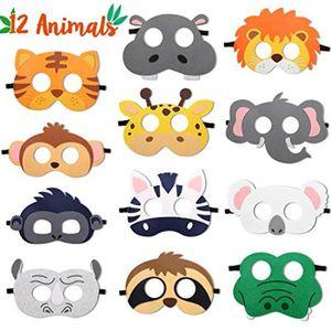 Fox Masque Réaliste fourrure-déguisement animal adulte Semaine Du Livre Enfant Jungle