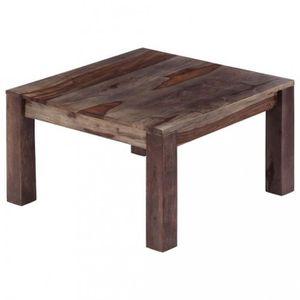 TABLE BASSE Magnifique  Table basse Gris 60 x 60 x 35 cm Bois