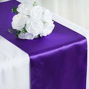 Chemin De Table Violet Par 10 Achat Vente Pas Cher