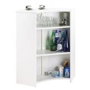 MEUBLE BAR Meuble Comptoir, Meuble Bar, Blanc - Coloris - Bla