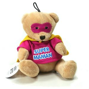 PELUCHE Peluche Mini Super - Super Maman