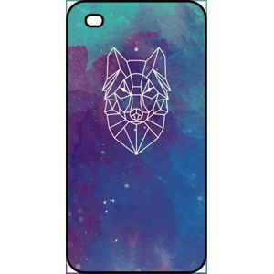 COQUE - BUMPER Coque apple iphone 4 hyper animals space loup