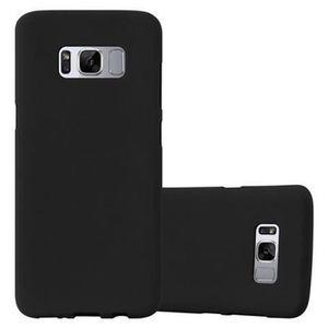 COQUE - BUMPER Coque Samsung Galaxy S8 PLUS FROST NOIR Cadorabo D