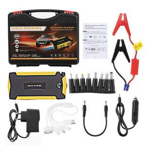 STATION DE DEMARRAGE 89800mAh Car Jump Starter 4 USB Emergency Chargeur