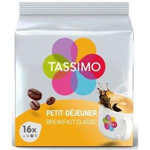 CAFÉ TASSIMO Café petit-déjeuner classique - 5x 16 dose