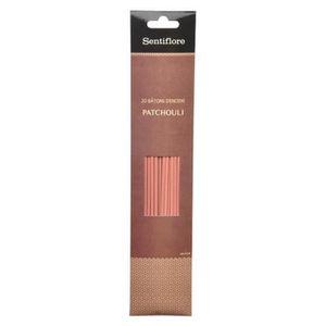 ENCENS 20 Bâtons d'encens Patchouli brun