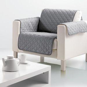 HOUSSE DE FAUTEUIL Protège fauteuil Gris