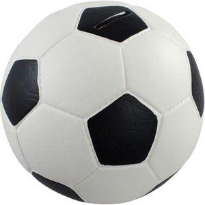 TIRELIRE HMF 4790-01 Tirelire,Ballon de football, en similc