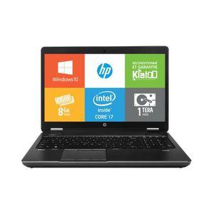 ORDINATEUR PORTABLE Pc portable-HPZBOOK15-intel core i7-8go ram 1 to d
