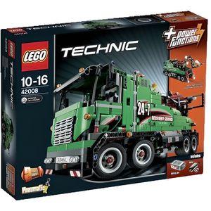 ASSEMBLAGE CONSTRUCTION LEGO® Technic 42008 Le Camion de Service