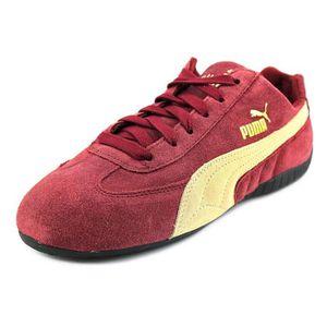Daim Speed Rouge Puma Baskets Vente Cat Achat Basket Tc1JlF3K