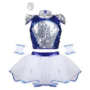 JUPETTE DE DANSE Tutu Danse Classique Fille Paillette Robe Danse Ba