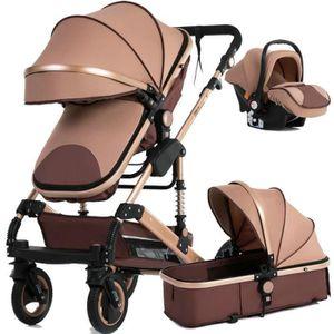 CHARIOT DE GARAGISTE Nouveau bébé chariot haute paysage 3 à 1 bébé pous